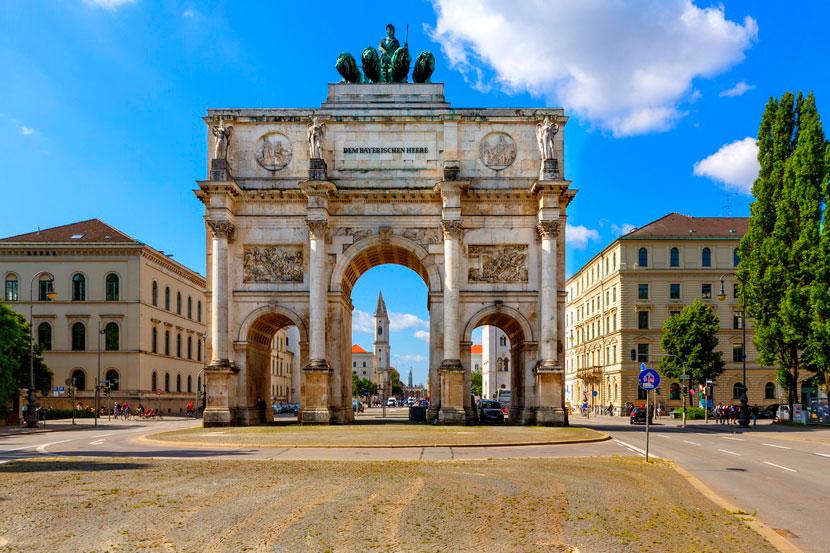 Изарские ворота – одна из популярных мюнхенских достопримечательностей